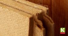 Holzfaser als Dämmstoff