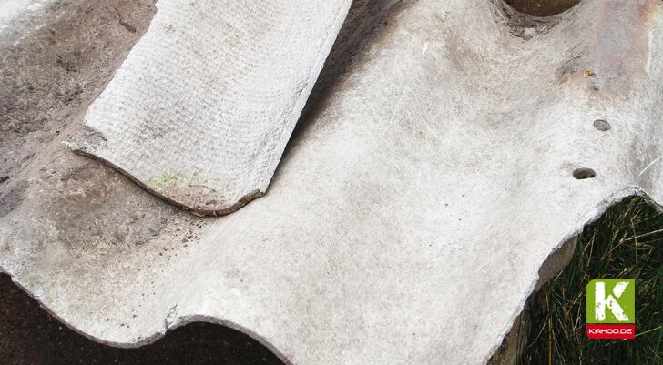 Asbest in Häusern