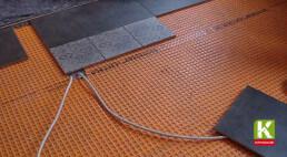 Entkopplungsmatten als idealer Untergrund für den Fliesenbelag