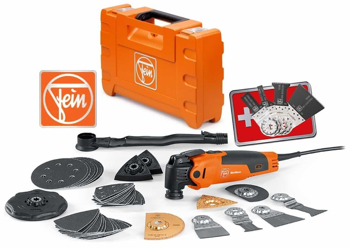 Fein MultiMaster Plus Edition, orange, FMM 350 QSL Plus Edition – neue Aufnahme